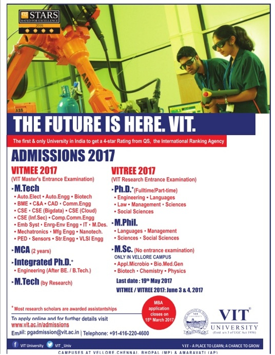VIT University( Vellore Institute of Technology)