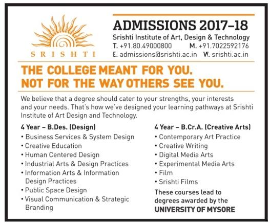 Srishti Institute of Art, Design & Technology