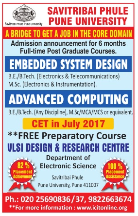 Integrated Circuit and Information Technology Admission for certificate courses