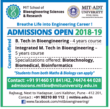 MIT School of Bioengineering Sciences and Research (MIT-SBSR) admission opens