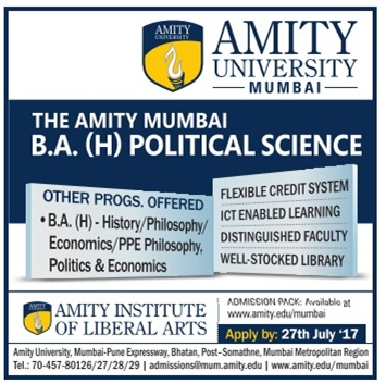 Admission open for BA,B.Tech at Amity University