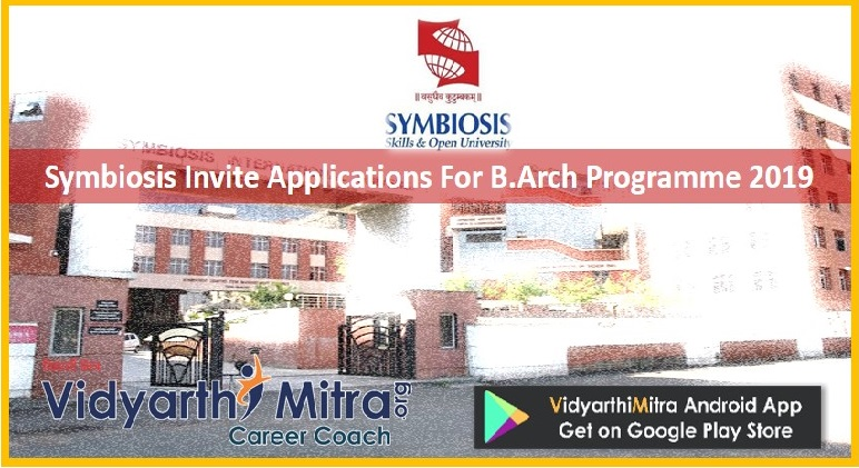 Symbiosis Invite Applications For B.Arch Programme 2019