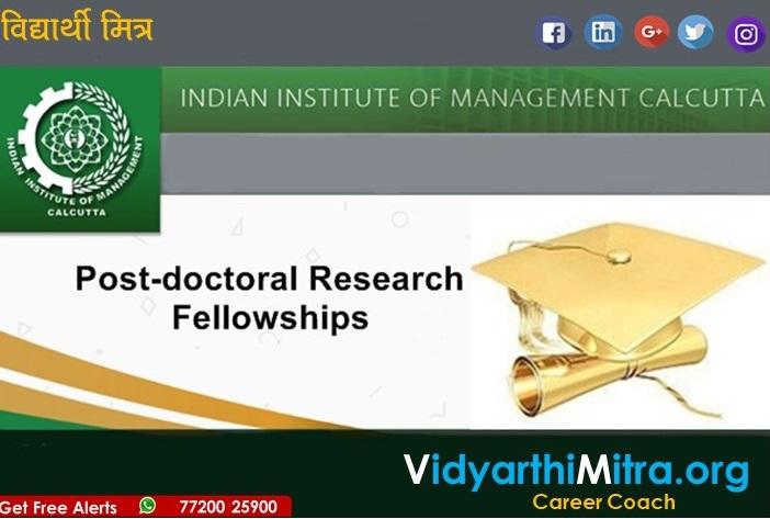 IIM Calcutta- Fellow Program