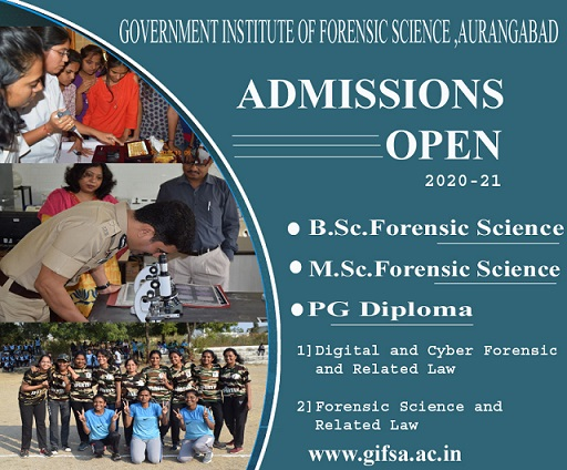 Government Institute of Forensic Science Admissions 2020-21
