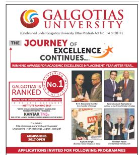 Admission open at Galgotias university