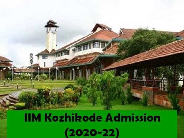 IIM, Kozhikode invite applications for Executive PG Program in Management 2020