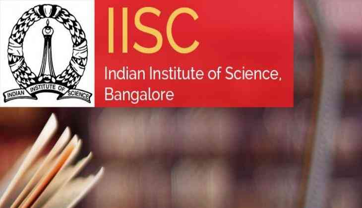 IISc Bangalore PG admissions 2019