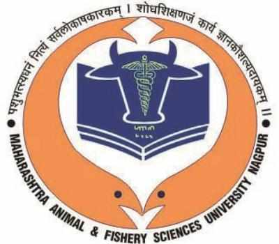 MAHARASHTRA ANIMAL & FISHERY SCIENCES UNIVERSITY 2018-19