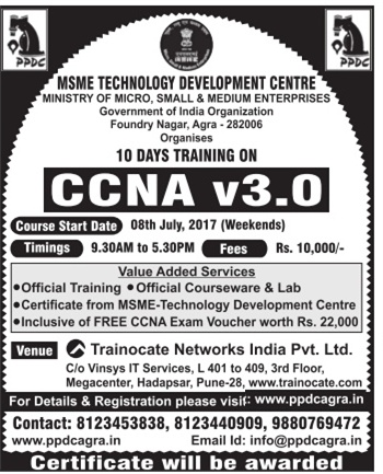 MSME TRAINING FOR CCNA V3.0