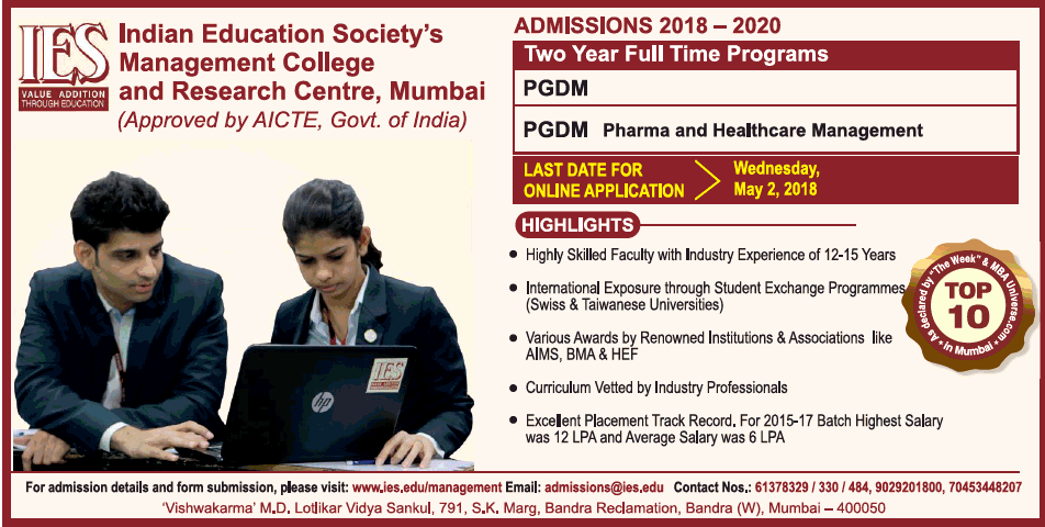 IES Management College and Research Centre Mumbai