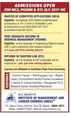 Institute of Management career courses ADMISSION FOR MCA,PGDBM,DTL