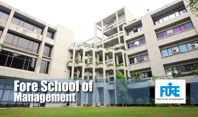 Admissions Open for PGDM at Fore school of Management 2020-21