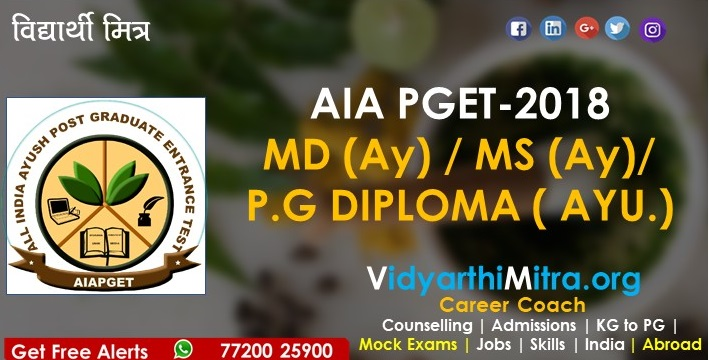 ALL INDIA AYUSH POST GRADUATE ENTRANCE TEST