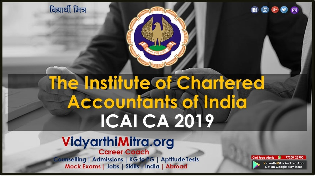 Institute of Chartered Accountants of India Exam