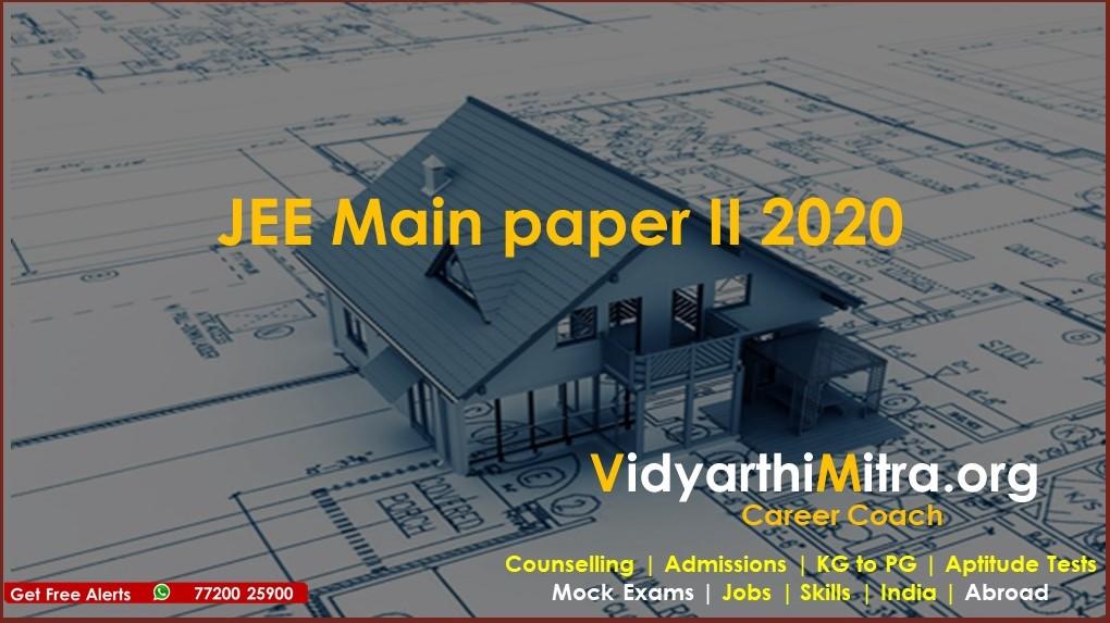 JEE Main paper II