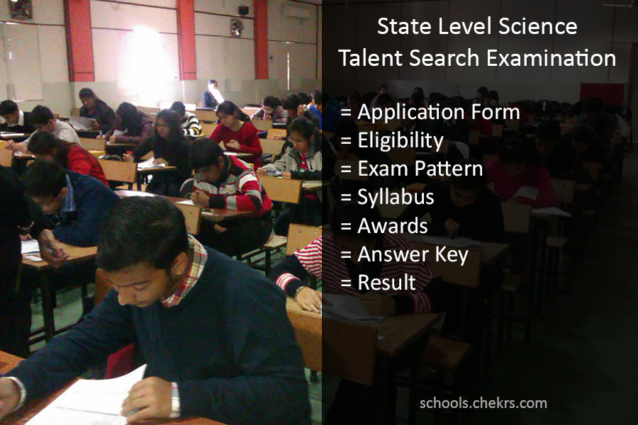 State Level Science Talent Search Examination