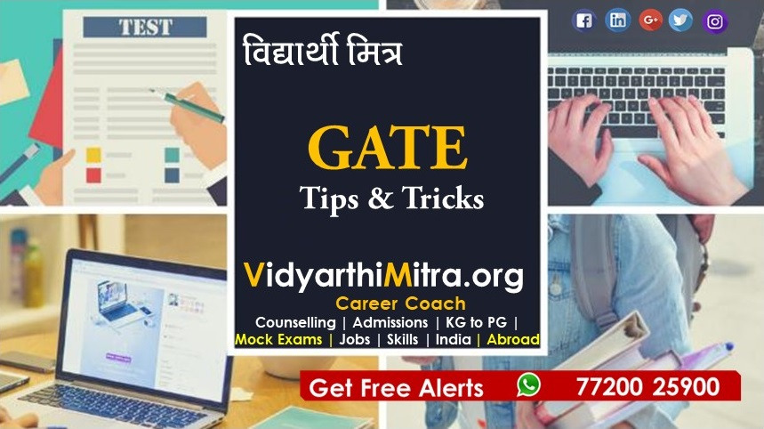 GATE 2019 online application last date today