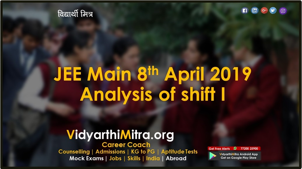 JEE Main 2019: Exam dates, shift details released