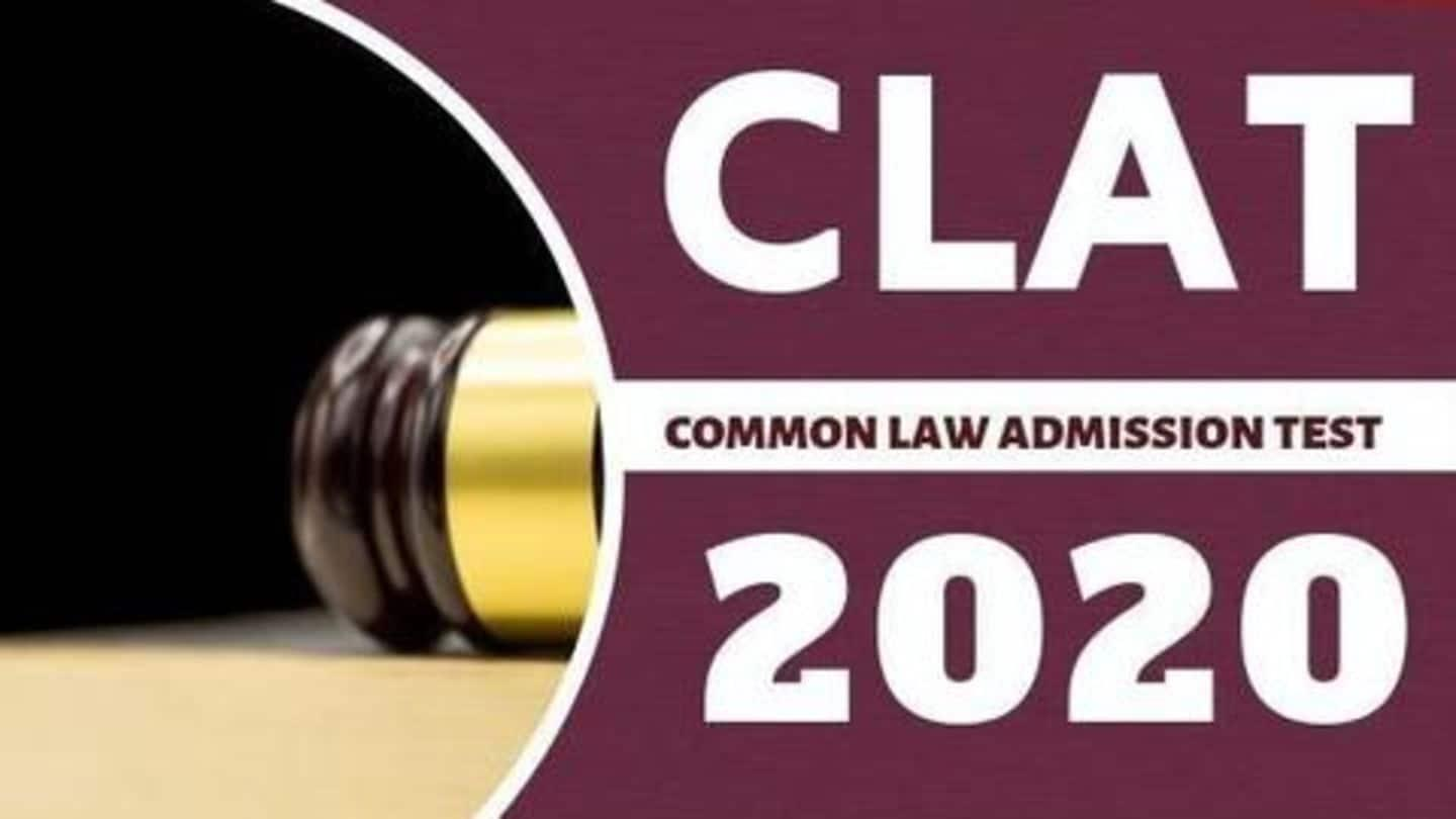 CLAT 2020 exam date announced
