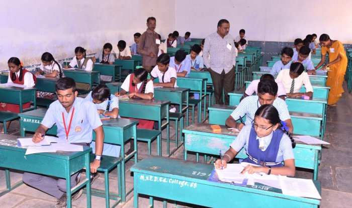 Telangana SSC exams in May: Inter paper evaluation begins from today