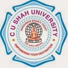 C.U.SHAH UNIVERSITY, SURENDRANAGAR