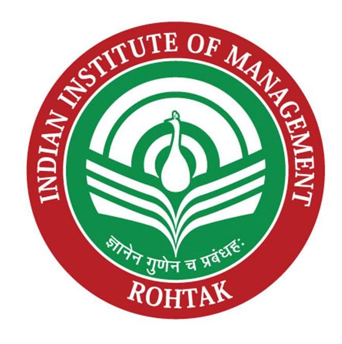 INDIAN INSTITUTE OF MANAGEMENT,ROHTAK