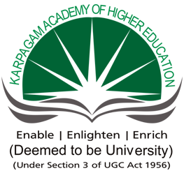 KARPAGAM ACADEMY OF HIGHER EDUCATION, COIMBATORE