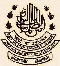 NATIONAL INSTITUTE OF TECHNOLOGY, SRINAGAR