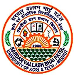 SARDAR VALLABH BHAI PATEL UNIVERSITY OF AGRICULTURE & TECHNOLOGY, MEERUT