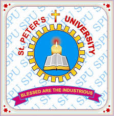 ST. PETERS INSTITUTE OF HIGHER EDUCATION AND RESEARCH, CHENNAI