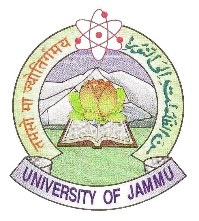 UNIVERSITY OF JAMMU, JAMMU TAWI