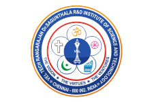 VEL TECH RANGARAJAN DR. SAGUNTHALA R & D INSTITUTE OF SCIENCE & TECHNOLOGY, CHENNAI