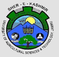 SHER-E-KASHMIR UNIVERSITY OF AGRICULTURAL SCIENCE & TECHNOLOGY OF JAMMU, JAMMU